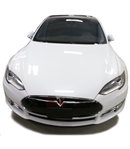 Tesla Model S with Full Paint Protection in Mississauga